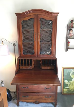 Vintage Secretary desk for Sale in Tustin, CA