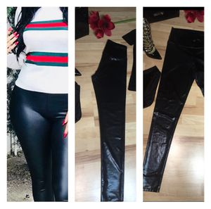 Patent Leather Metallic look High Wasted Leggings size M for Sale in Fairfax, VA