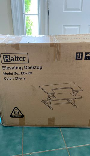 Halter sit to stand desk for Sale in Herndon, VA