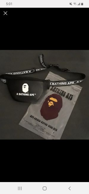 A Bathing Ape Bape Waist Bag Fanny Pack for Sale in Clackamas, OR