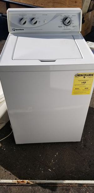Speed queen heavy duty washer for Sale in East Haven, CT