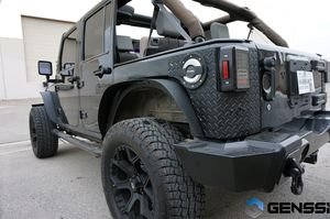 Fender flares amazing for Jeep jk 2007-2017 for Sale in San Diego, CA