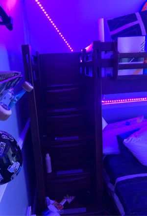 Kids buck bed with desk for Sale in Pompano Beach, FL
