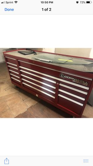 75inch Cornwall tool box for Sale in Salem, NH