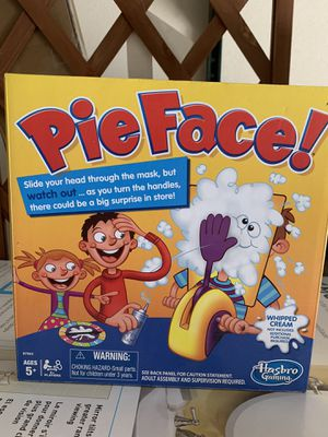Hasbro Gaming-Pie Face! - Perfect for entertaining kids for Sale in Norwalk, CA