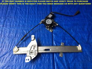 OEM 2000 2001 2002 2003 2004 2005 IMPALA PASSENGER RIGHT FRONT WINDOW REGULATOR for Sale in Miami Gardens, FL