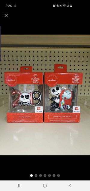 Nightmare Before Christmas Ornaments *Walgreens Exclusive* for Sale in Rutherford, NJ