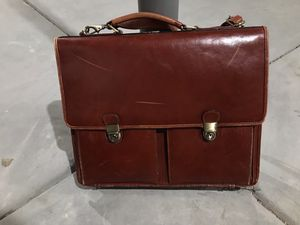 Leather laptop bag for Sale in Arvada, CO
