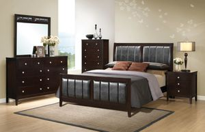 (JUST $54 DOWN) Brand New Beautiful Queen Bedroom Set (Financing and Delivery available) for Sale in Carrollton, TX