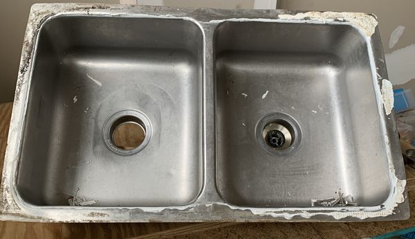 Free 1-Single / 1-double Kitchen sinks, Stainless steel