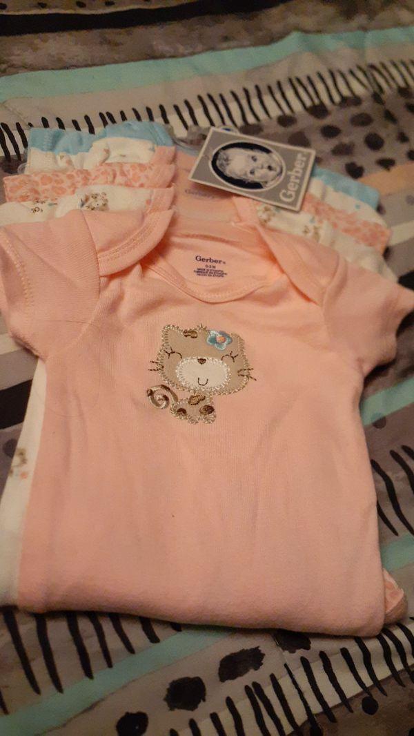 Cute babygirl 5pk onesies
