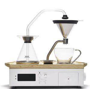 White Barisieur Alarm Clock Coffee Maker, New In Box for Sale in Tustin, CA