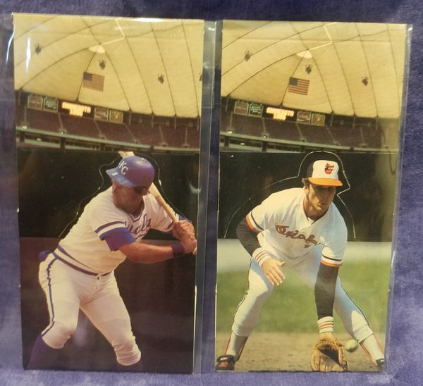 1985 Donruss All-Star Game American League Pop Up Baseball Cards