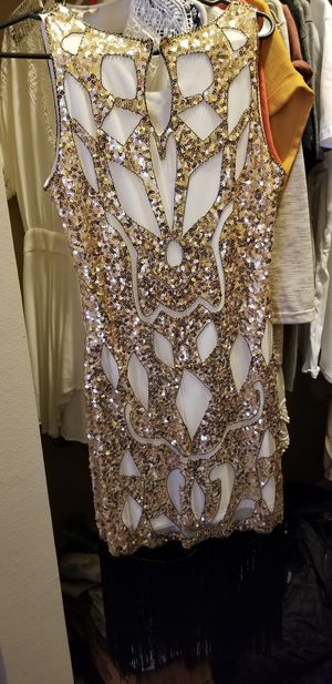 Gold flapper dress for Sale in Austin, TX