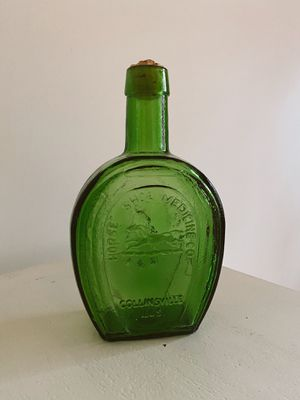 Vintage Green Bottle for Sale in Wheaton, IL