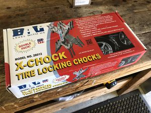 Tire Locking Chocks for RV, Travel Trailer, Camper for Sale in Houston, TX