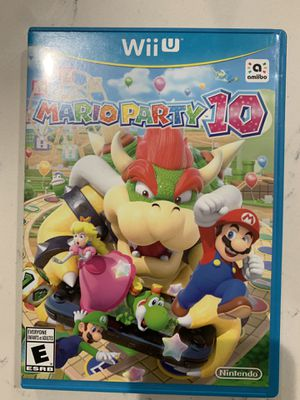 Mario party 10 for Wii U for Sale in Lake Mary, FL