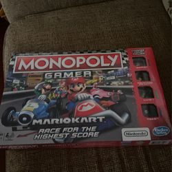 Monopoly Gamer Mario Kart *NEW NEVER OPENED* for Sale in Alexandria,  VA