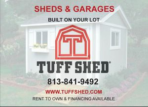 Tuff shed built on site for Sale in Tampa, FL