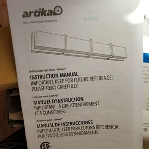 "Artika Subway 35"" LED Vanity Light ($150 for 2) for Sale in Phoenix, AZ"