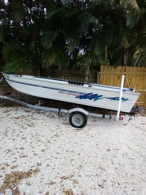 16 ft bass boat for Sale in Fort Lauderdale, FL