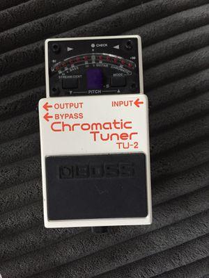 Boss Chromatic Tuner TU-2 for Sale in Oakland, CA