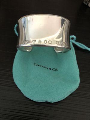 Tiffany & Co 1837 Wide Cuff for Sale in HVRE DE GRACE, MD