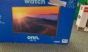 """New ONN 43"""" 4K TV open box w/ warranty B2 for Sale in Houston, TX"""