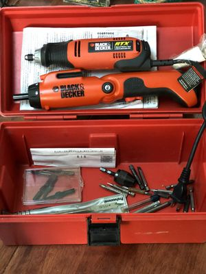 Black & Decker 3-Speed Rotary Tool and Screwdriver for Sale in Willowbrook, IL
