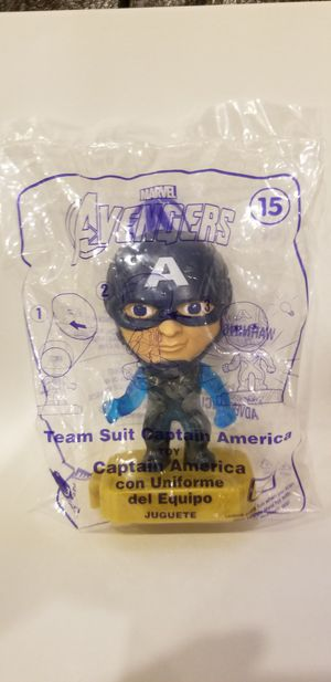 McDonalds Avengers Team Suit Captain America for Sale in Brooklyn, NY
