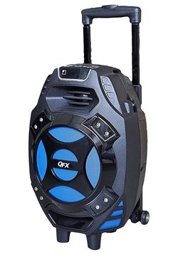 Portable Bluetooth Party Speaker. You Can Karaoke With It. Rechargeable. Microphone Inputs. Brand New. Three Colors Available, Blue, Red, And Silver for Sale in Miami,  FL