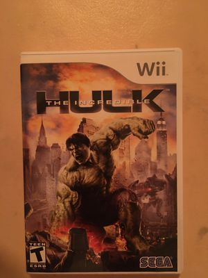 Nintendo Wii the hulk for Sale in Visalia, CA