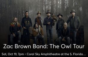 Zac Brown Band: The Owl Tour (2 tickets) for Sale in Miami, FL