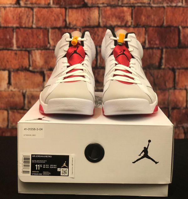Jordan 6 Hare Size 11.5