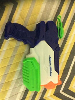 Nerf super soaker water gun for Sale in Queens, NY