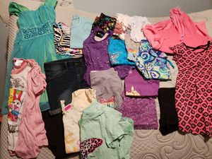 Lot of size 6/7 girls summer clothes for Sale in North Parkersburg, WV