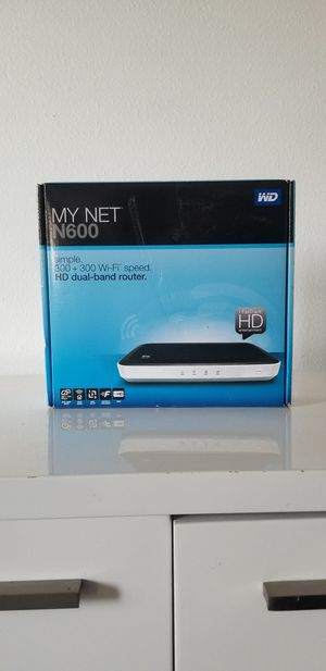 My Net western digital n600 router for Sale in Downey, CA