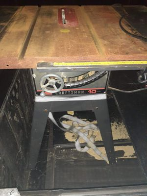 10 inch table saw for Sale in Lowell, MA