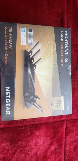 Netgear Nighthawk X6 AC3200 Tri-band WiFi Router Brand New for Sale in Lemon Grove, CA