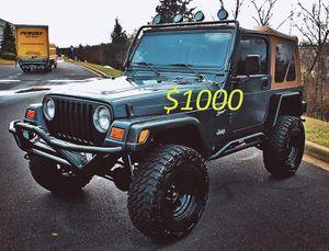 Fully Loaded 2000 Jeep Wrangler For Sale!!!-$1000 for Sale in Santa Ana, CA