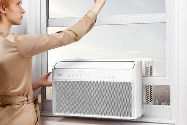 Midea U Inverter Window Air Conditioner 12,000BTU, U-Shaped AC with Open Window Flexibility for Sale in Sherwood,  OR
