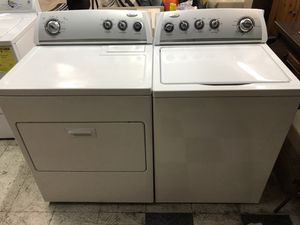 Great condition washer and dryer electric whirlpool matching for Sale in Stockton, CA