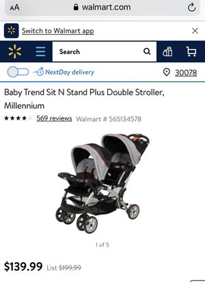 Doble stroller Brand new for Sale in Lawrenceville, GA