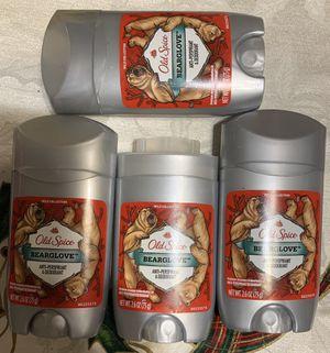 Lot of 4 antiperspirant old spice Lote de 4 antiperspirant old spice for Sale in Mesa, AZ