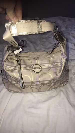 Authentic COACH Sis Plaid Hobo Shoulder Bag for Sale in Snohomish, WA