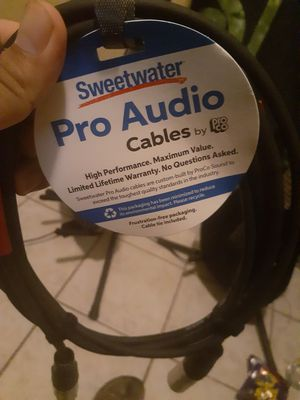 Pro Audio cables for Sale in Riverside, CA