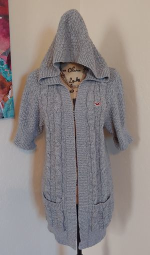 Hollister hoodie cardigan size large for Sale in Phoenix, AZ