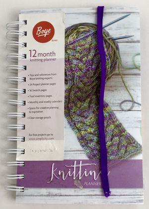 New Boye 12 Month Planner Knitting (Tarpon Springs) for Sale in Tarpon Springs, FL