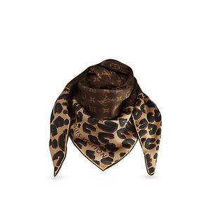LOUIS VUITTON Monogram Leopard Silk Scarf – Limited Edition for Sale in Lake Mary, FL