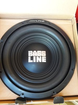 """Alpine bass line 12"""" for Sale in Los Angeles, CA"""